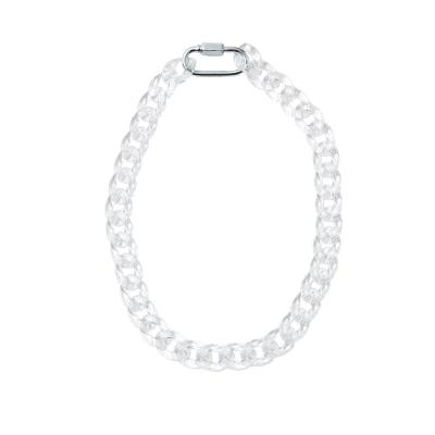 ADVANCE clear Necklace