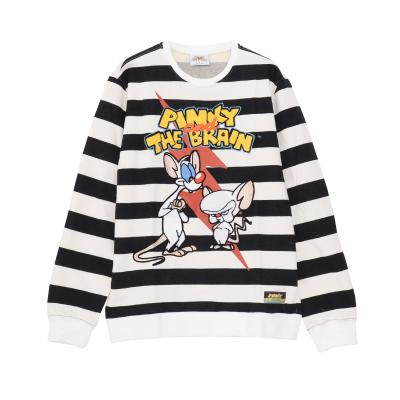 FreezeMax PAB Lighting Bolt Striped Crewneck