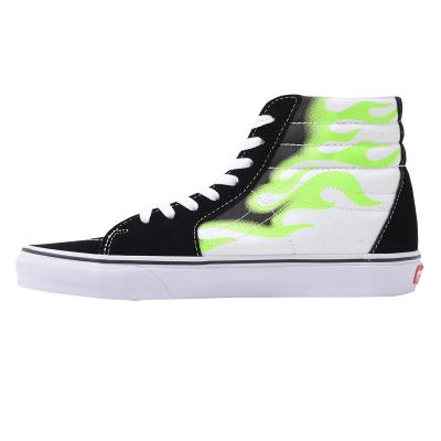 VANS 48 PRS Sk8-Hi (Flame) Black/True White