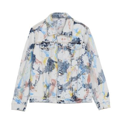 DOPE FEATHER TIE DYE JKT