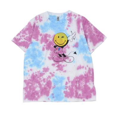 DIPSO Select Tie dye smile TEE