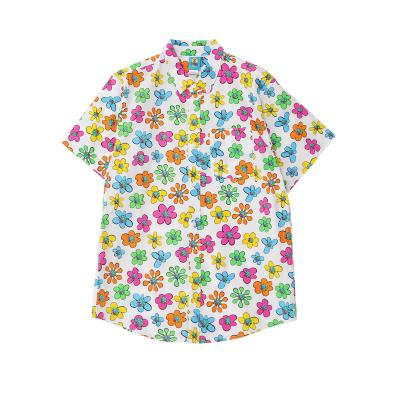 DIPSO Select flower SS shirt