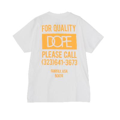 DOPE QUALITY DOPE POCKET TEE