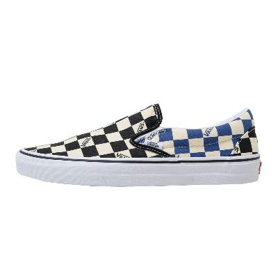 VANS LIFESTYLE Classic Slip-On (Big Check) Black/Navy