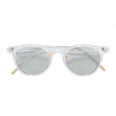 RN by Raffinito Boston clear frame sunglasses
