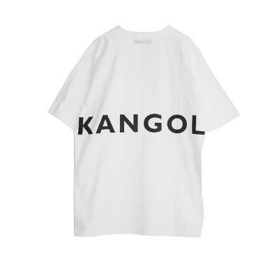 KANGOL Back print BIG TEE