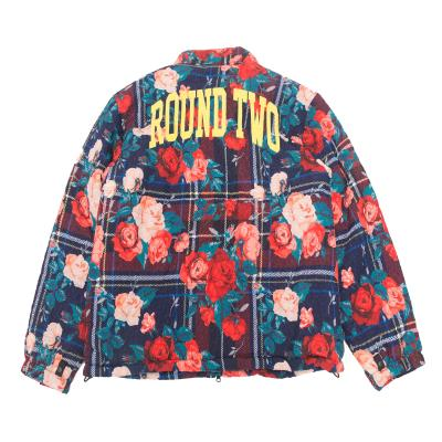 ROUND TWO reversible down jacket