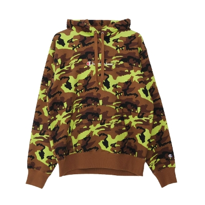Champion Camouflage Logo embroidery Pullover hoodie
