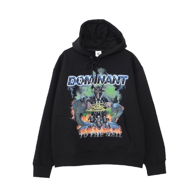 DOMINANT TO THE HELL Pullover hoodie