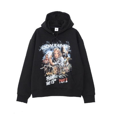 DOMINANT Horror graphics Pullover hoodie