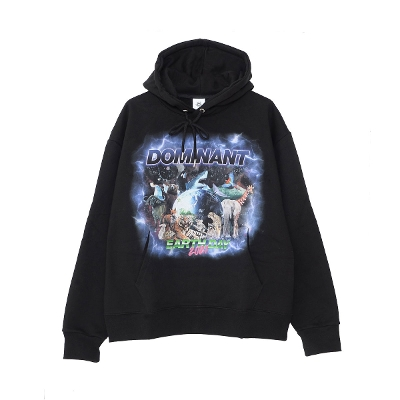 DOMINANT Animal graphics Long sleeve pullover hoodie