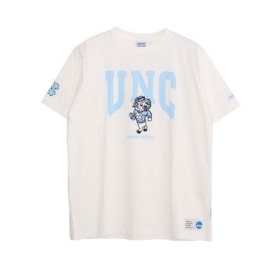 NCAA LOGO Printed crew neck short sleeve T-shirt